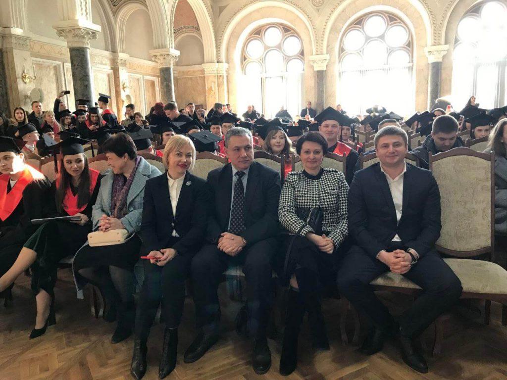 Oksana Shcherbaniuk Serhii Melenko dyplomy mahistram yurfaku