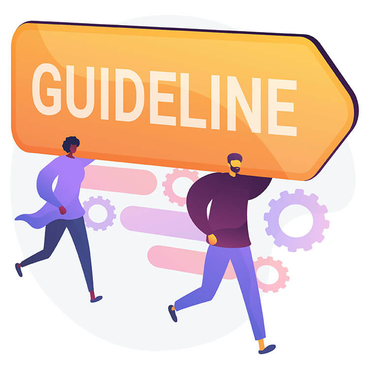 guideline rules banner