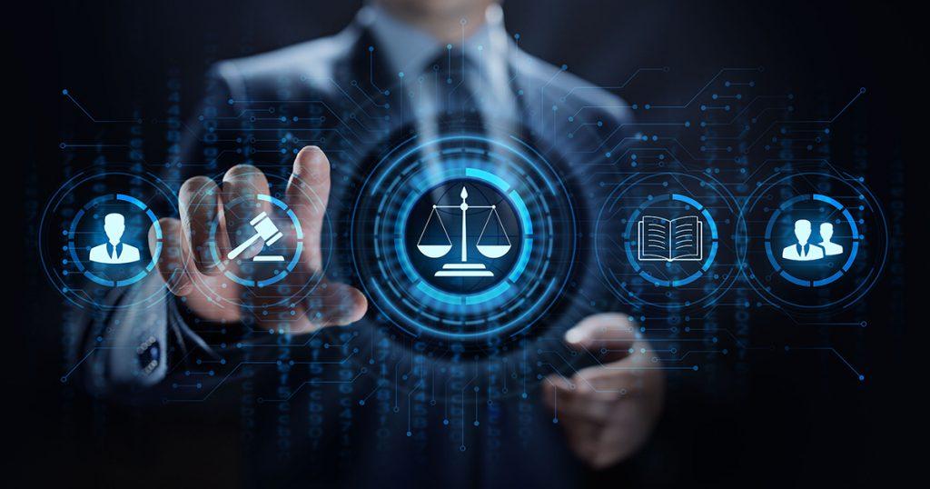 Internet Law Concept