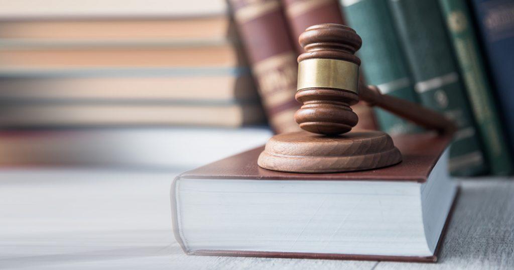 Judge Gavel Law Book