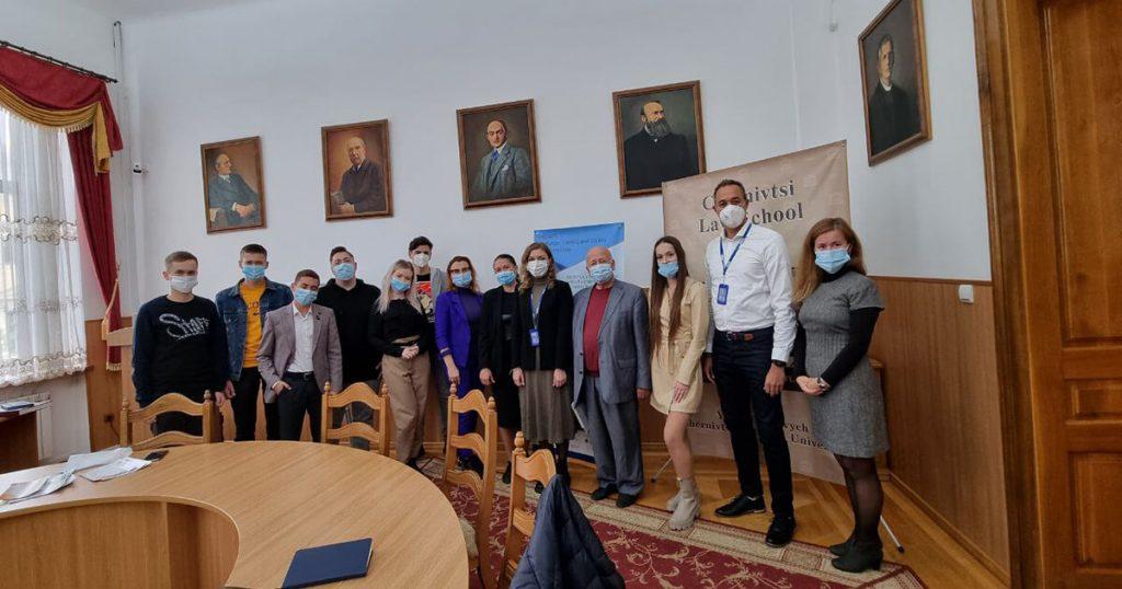 Zustrich z predstavnykamy Kyivskoho ofisu Spetsialnoi monitorynhovoi misii OBSIe