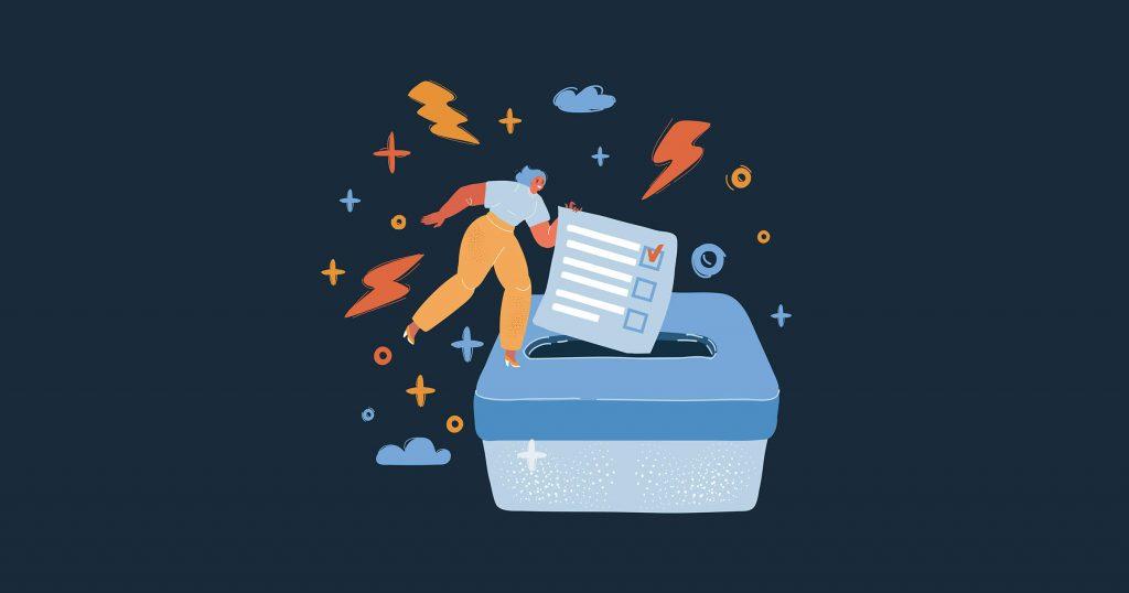 Election Voting Concept